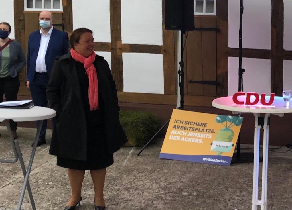 Podiumsdiskussion mit der Landwirtschaftsministerin Ursula Heinen-Esser